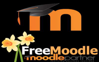 The Free Moodle Podcast logo