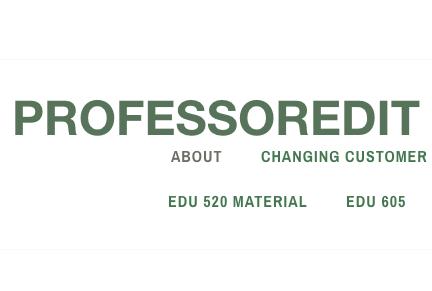 Professor edit