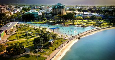 Cairns Esplanade Landscape