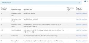 question management