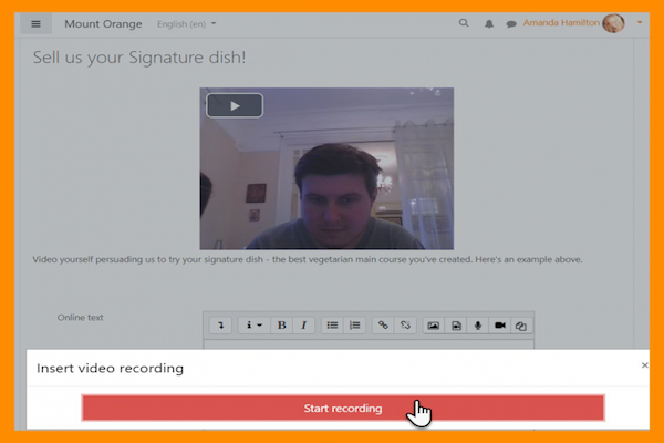 Audio and Video - native recording in Moodle editor