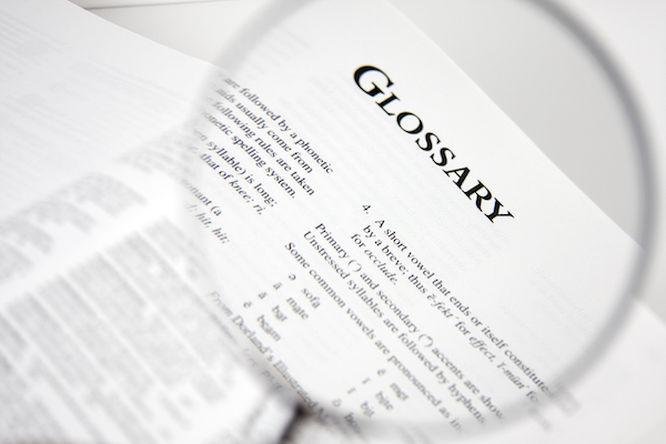 Moodle Glossary