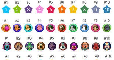 Level Up! badge sets